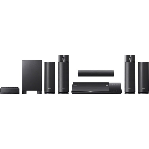 Sony BDV-N790W 5.1 3D Home Theater System - 1000 W RMS - Blu-ray Disc Player - Black