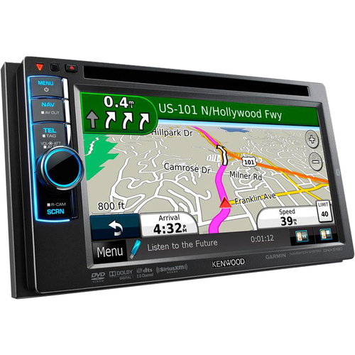 Kenwood DNX5190 Automobile Audio/Video GPS Navigation System