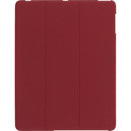 Griffin Technology IntelliCase Carrying Case (Folio) for iPad - Dark Red