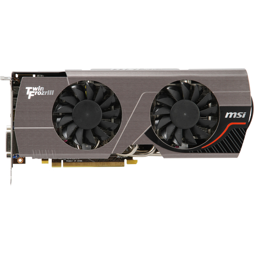 MSI R7870 Twin Frozr 2GD5/OC Radeon HD 7870 Graphic Card - 1050 MHz Core - 2 GB GDDR5 SDRAM - PCI-Express 3.0 x16
