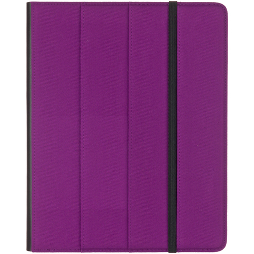 M-Edge Carrying Case for iPad - Purple, Black