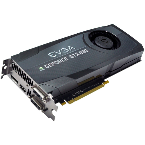EVGA 02G-P4-2684-KR GeForce GTX 680 Graphic Card - 1058 MHz Core - 2 GB GDDR5 SDRAM - PCI-Express 3.0 x16