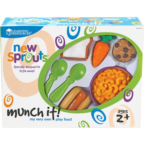 Learning Res. New Sprouts Munch It! Play Food Set | by Plexsupply