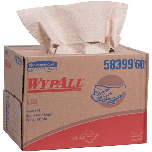 Kimberly-Clark WypAll L20 Wipers Brag Box | by Plexsupply