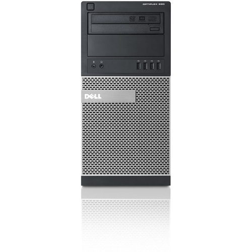 Dell OptiPlex 990 MT Desktop Computer - Intel Core i7 i7-2600 3.40 GHz - Mini-tower