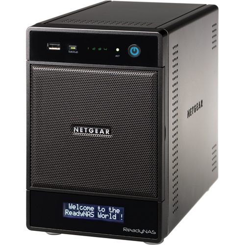 Netgear RNDP4430D-100NAS ReadyNAS Pro 4, 12 TB Unified Storage System