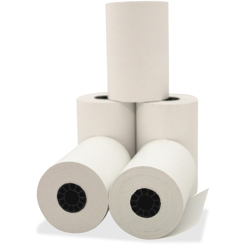 "Direct Thermal Printing Thermal Paper Rolls, 3.13"" x 119 ft, White, 50/Carton 