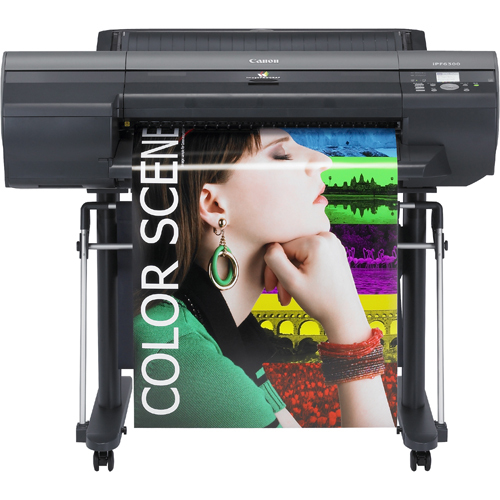 "Canon imagePROGRAF iPF6350 Inkjet Large Format Printer - 24"" - Color"