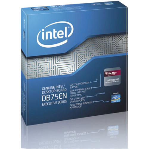 Intel Executive DB75EN Desktop Motherboard - Intel B75 Express Chipset - Socket H2 LGA-1155 - 1 Pack