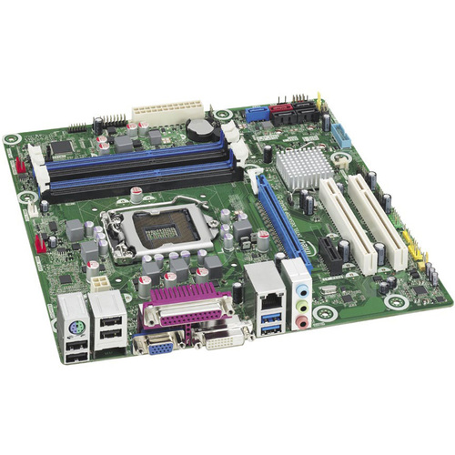 Intel Executive DB75EN Desktop Motherboard - Intel B75 Express Chipset - Socket H2 LGA-1155 - 10 x Bulk Pack
