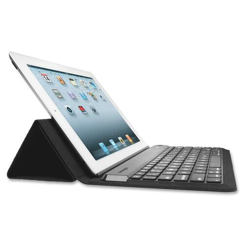 Kensington KeyStand Keyboard/Cover Case (Folio) for iPad - Black