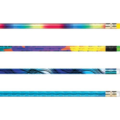 Award Pencil, Treasure Assortment, HB (#2), Black Lead, Assorted Barrel Colors, 144/Box | by Plexsupply