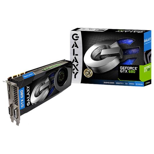 Galaxy Technology GeForce GTX 680 Graphic Card - 1110 MHz Core - 2 GB GDDR5 SDRAM - PCI-Express 3.0 x16
