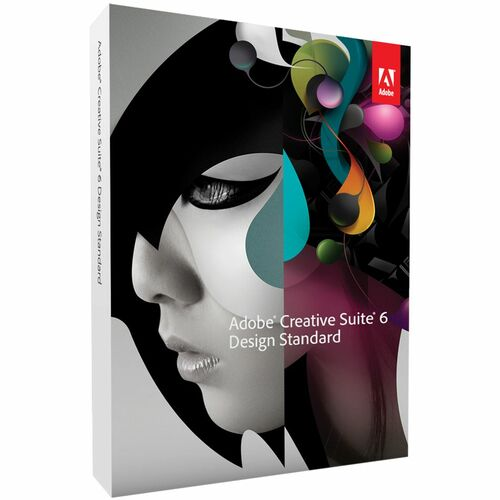Adobe Systems Creative Suite v.6.0 (CS6) Design Standard - Complete Product - 1 User