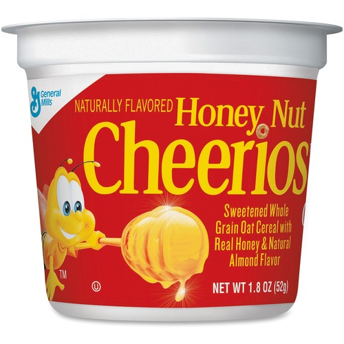 General Mills Honey Nut Cheerios Cereal-In-A-Cup | by Plexsupply