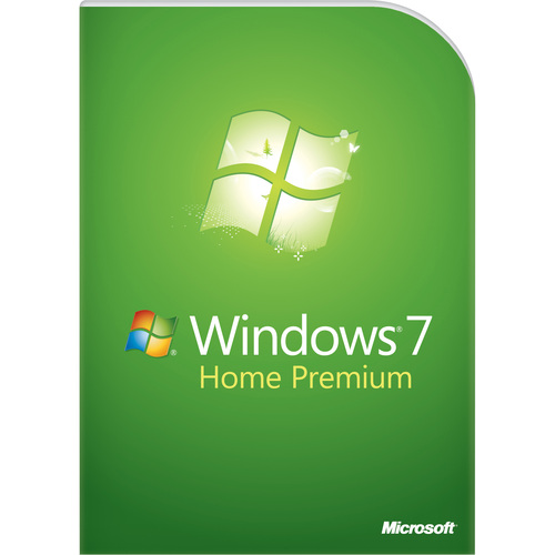 Microsoft Windows 7 Home Premium With Service Pack 1 64-bit - License and Media - 1 PC