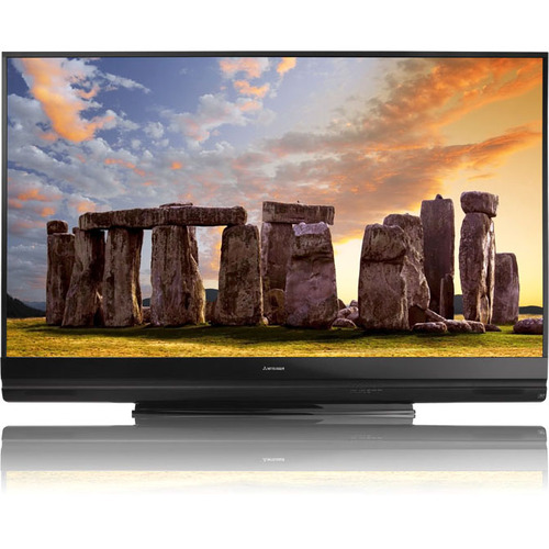 "Mitsubishi Home Cinema WD-73742 82"" 3D DLP 1080p Projection TV - 16:9 - 120 Hz"