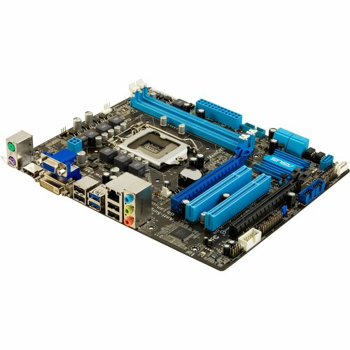 Asus P8B75-M LE Desktop Motherboard - Intel B75 Express Chipset - Socket H2 LGA-1155