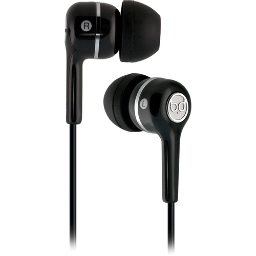 Bell'O BDH220BK In-Ear Headphone, Black