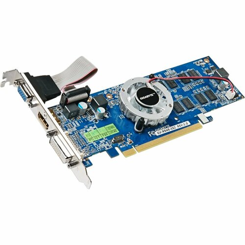 GIGABYTE HD Experience GV-R645-1GI Radeon HD 6450 Graphic Card - 625 MHz Core - 1 GB DDR3 SDRAM - PCI Express 2.1 - Low-profile