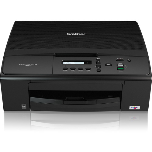 Brother DCP-J140W Inkjet Multifunction Printer - Color - Plain Paper Print - Desktop