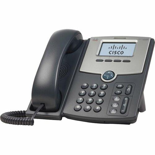 Cisco SPA512G-RC 1-Line w/LCD Display, 2x Gigabit ethernet switch, PoE, IP Phone w/remote config