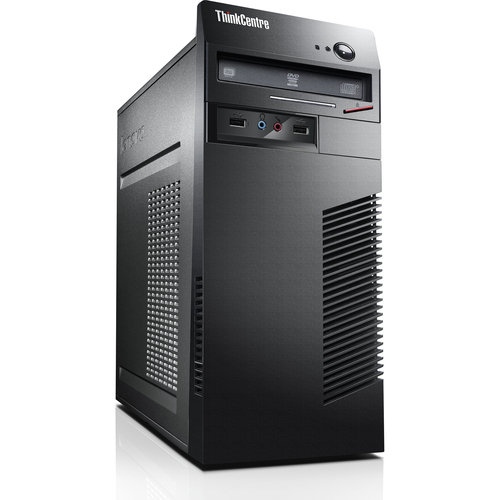Lenovo ThinkCentre M72e 0958A1U Desktop Computer - Intel Core i5 i5-3470 3.20 GHz - Tower - Business Black