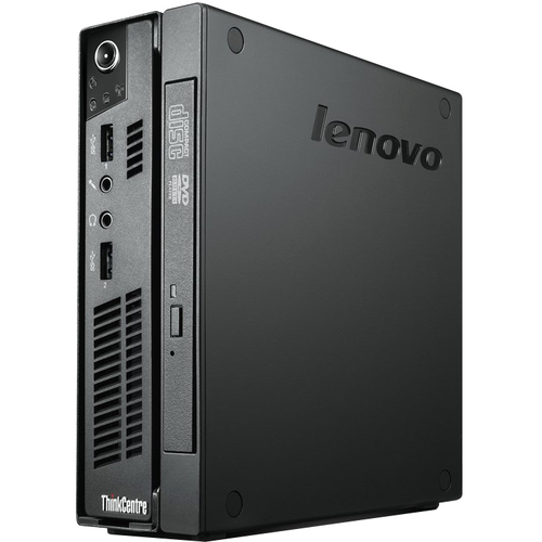 Lenovo ThinkCentre M72e 4004A1U Desktop Computer - Intel Core i3 i3-2120T 2.60 GHz - Ultra Small - Business Black