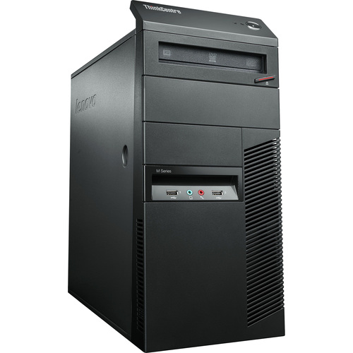 Lenovo ThinkCentre M82 3392-D2U Desktop Computer - Intel Core i5 i5-3470 3.20 GHz - Tower - Business Black
