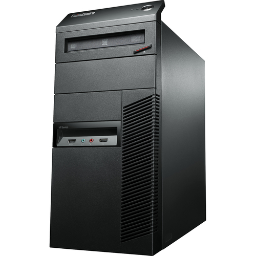 Lenovo ThinkCentre M92p 3212A3U Desktop Computer - Intel Core i5 i5-3550 3.30 GHz - Tower - Business Black
