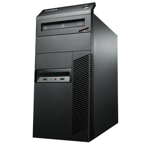 Lenovo ThinkCentre M92p 3212C9U Desktop Computer - Intel Core i7 i7-3770 3.40 GHz - Tower - Business Black