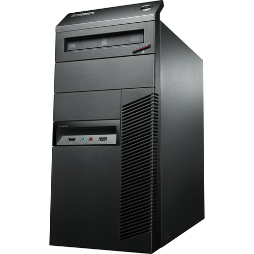 Lenovo ThinkCentre M92p 3228A1U Desktop Computer - Intel Core i7 i7-3770 3.40 GHz - Tower - Business Black