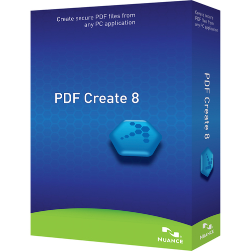 Nuance Communications, Inc. PDF Create v.8.0 - Complete Product - 1 User