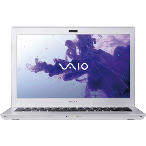 "Sony VAIO SVT13114GXS 13.3"" LED Ultrabook - Intel Core i5 i5-3317U 1.70 GHz - Silver Mist"