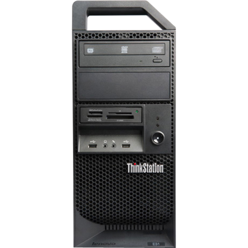 Lenovo ThinkStation E31 255532U Tower Workstation - 1 x Processors Supported - 1 x Intel Core i3 i3-2120 Dual-core (2 Core)