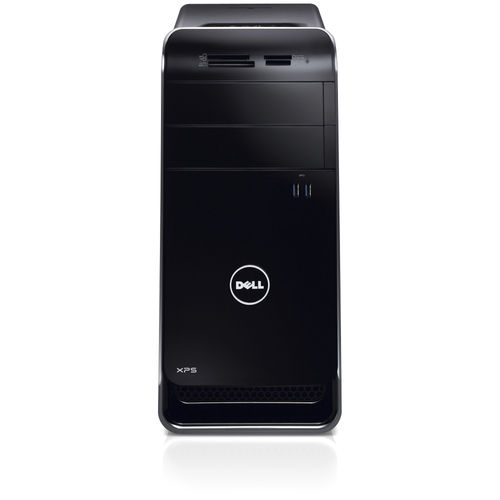 Dell XPS 8500 Desktop Computer - Intel Core i7 i7-3770 3.40 GHz - Mini-tower - Black