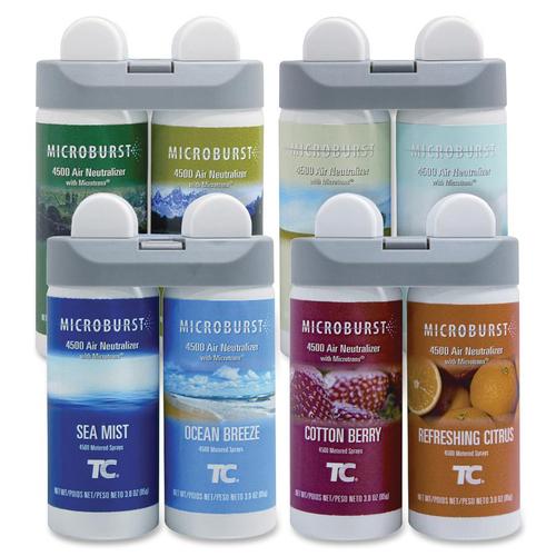 Aerosol frangrance refill, variety pack, refill, ast, sold as 1 carton