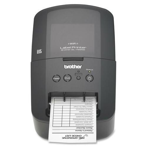 Brother QL-720NW Direct Thermal Printer - Monochrome - Desktop - Label Print