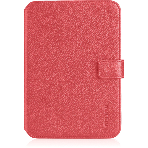 Belkin Verve Tab Carrying Case (Folio) for Tablet PC - Sunset Pink