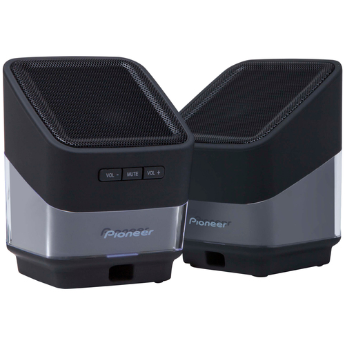 Pioneer S-MM201-K Speaker System - 1.5 W RMS - Black