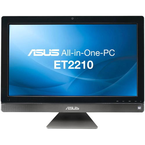 Asus EeeTop ET2210IUTS-B004E All-in-One Computer - Intel Core i3 i3-2120 3.30 GHz - Desktop - Dark Gray Chrome