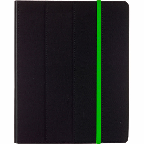 M-Edge Trip Jacket Carrying Case for iPad - Black, Green