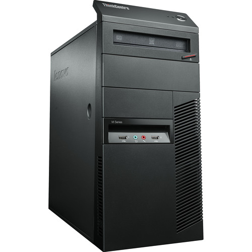 Lenovo ThinkCentre M92p 2992B2U Desktop Computer - Intel Core i7 i7-3770 3.40 GHz - Mini-tower - Business Black