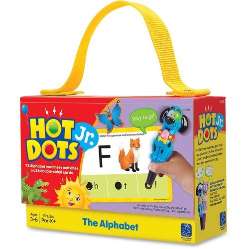 Eductnl Insights Hot Dots Jr. Alphabet Card Set | by Plexsupply