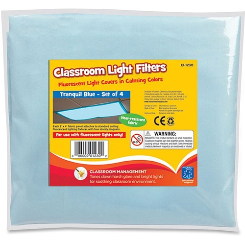Eductnl Insights Classroom Fluorescent Light Cover | by Plexsupply