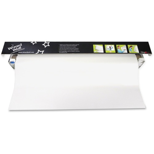 """Wizard Wall 28"""" Dry Erase Static Cling Film System"""