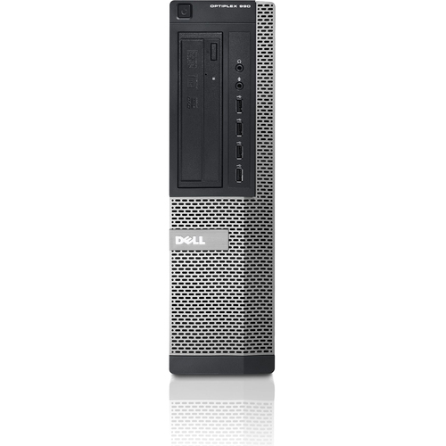 Dell OptiPlex 990 Desktop Computer - Intel Core i7 i7-2600 3.40 GHz - Small Form Factor