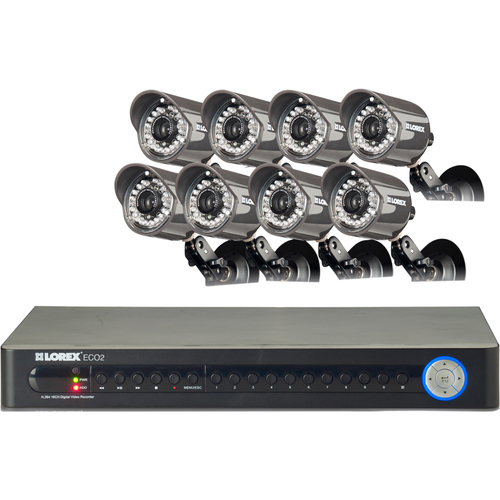Lorex Technology ECO2 16 Channel Wired DVR Security Camera System