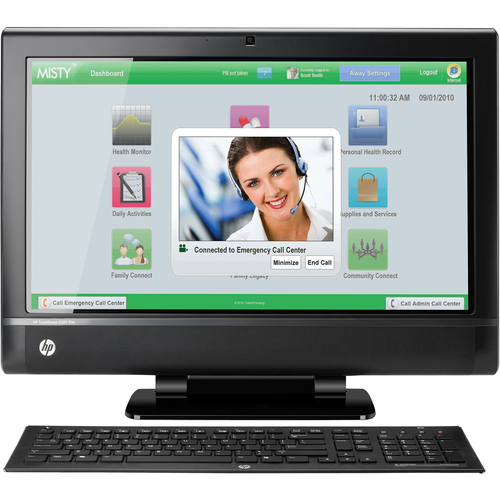 HP TouchSmart 9300 Elite All-in-One Computer - Intel Core i7 i7-2600 3.40 GHz - Desktop