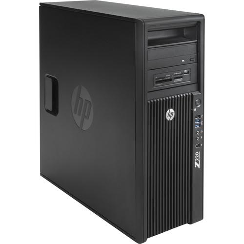 HP B8U95UT Convertible Mini-tower Workstation - 1 x Intel Xeon E3-1225V2 3.20 GHz